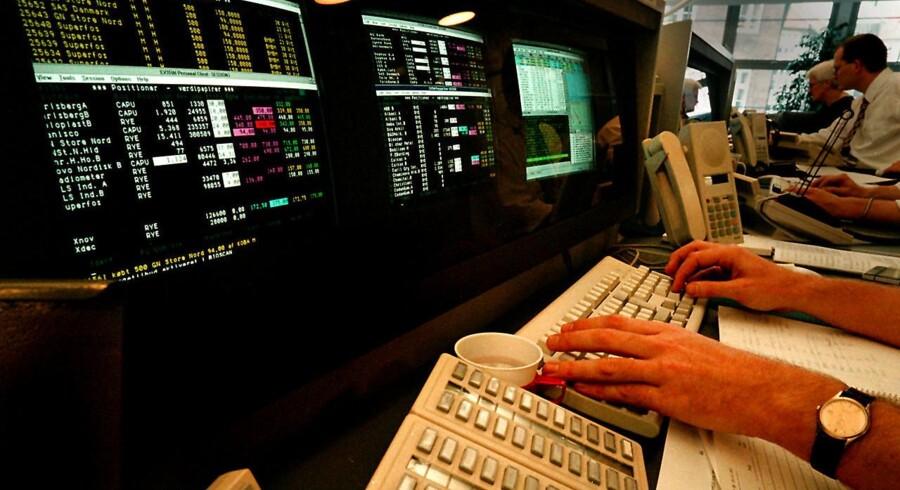 De store kursfald på aktier i årets første måneder har gjort det aktuelt at finde investeringer, der kan beskytte den samlede portefølje mod finansiel uro. Arkivfoto