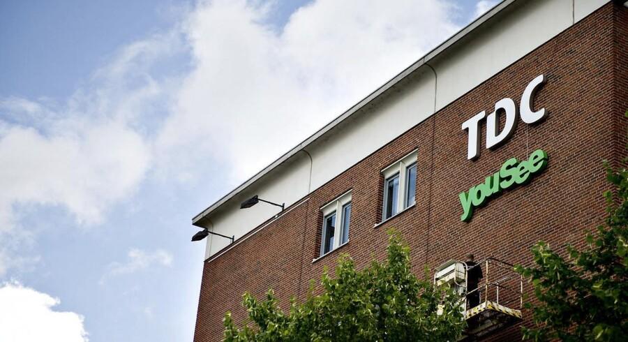TDC står bag Danmarks største kabel-TV-selskab med 1,2 millioner husstande som kunder, men opkøbet i Norge af kabel-TV-selskabet Get er det, der redder TDCs regnskab, og nu skal norsk viden importeres til Danmark. Arkivfoto: Torkil Adsersen, Scanpix