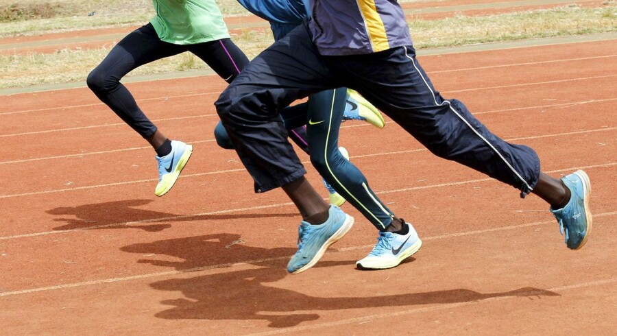 Arkivfoto: Kenyanske løbere.