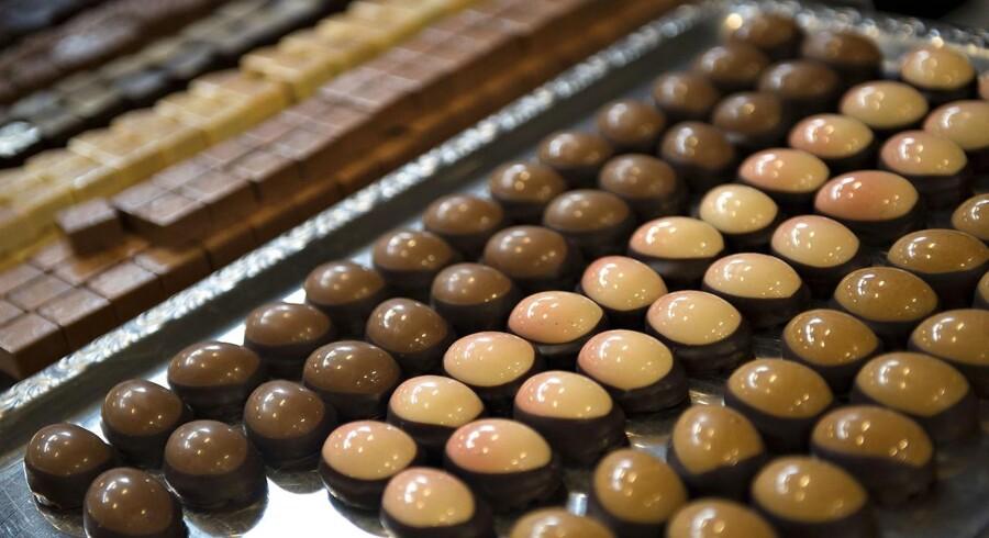 ARKIVFOTO: Chokoladefestival i København.