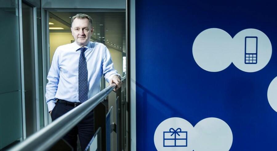 TDCs topchef, Carsten Dilling, har fortsat svære problemer med at holde på sine mobilkunder, synes denne uges regnskaber fra to af konkurrenterne at vise. Arkivfoto: Mads Nissen, Scanpix