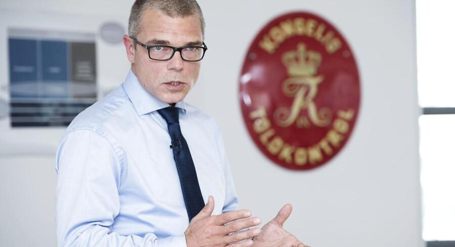 Skats øverste direktør, Jesper Rønnow Simonsen, er nu fortid i Skat.