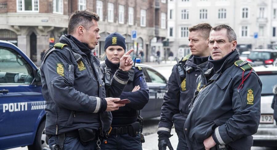 Arkivfoto. Efter knap fem måneder på flugt er det lykkedes Københavns Politi at anholde 25-årig i Malmø. (Foto: Bax Lindhardt/Scanpix 2017)