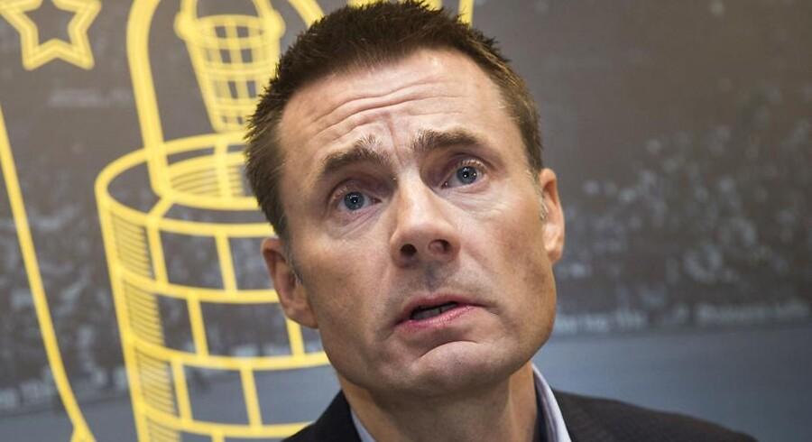 Brøndby IFs storaktionær og bestyrelsesformand Jan Bech Andersen