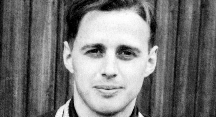 Jørgen Kieler tilfangetaget af tyskerne.