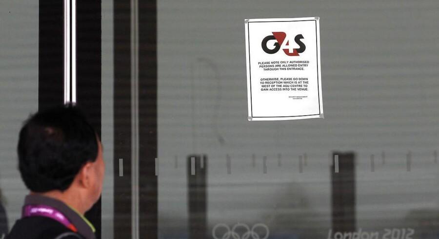 Arkivfoto: G4S har en svær tirsdag på børsen, da vagt- og sikkerhedskoncernens forventninger til 2017 er lavere end analytikernes.