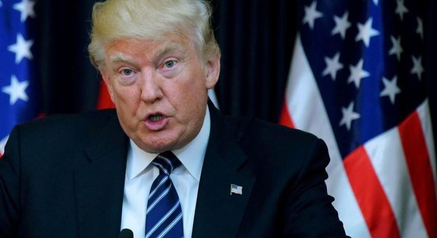 Amerikansk præsident Donald J. Trump kalder gerningsmændene bag bomben i Manchester (der kostede 22 mennesker livet) for »onde tabere«.