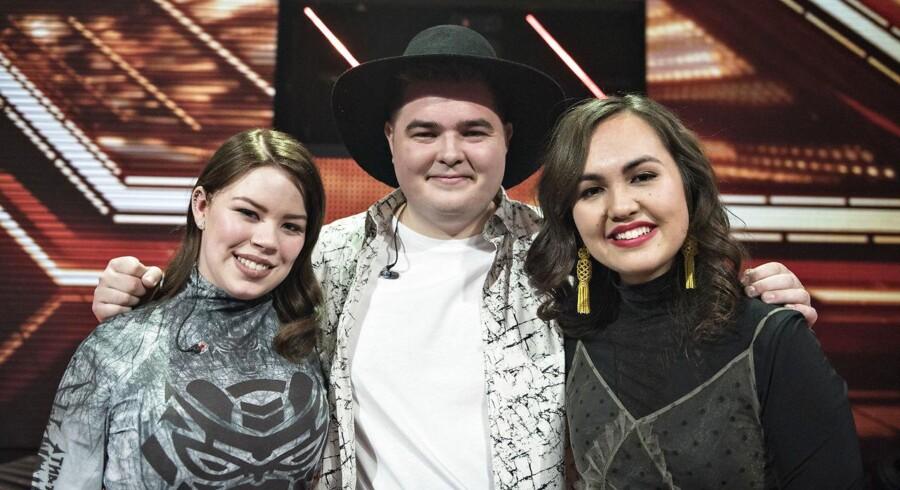 De tre finalister til årets X Factor.
