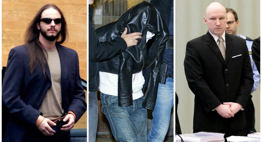 Peter Lundin, Anders Behring Breivik og Marcel Lychau Hansen er nogle af de værste narcissistiske forbrydere, mener psykiater.