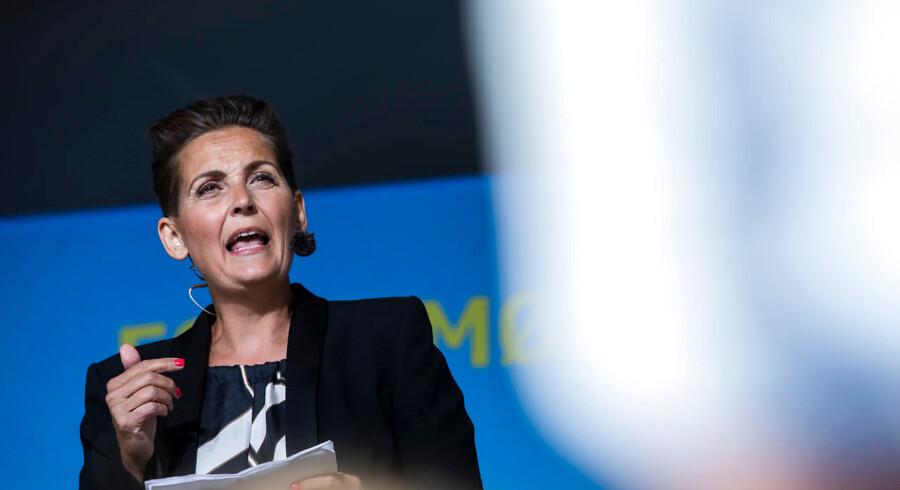 Socialistisk Folkepartis formand Pia Olsen Dyhr.