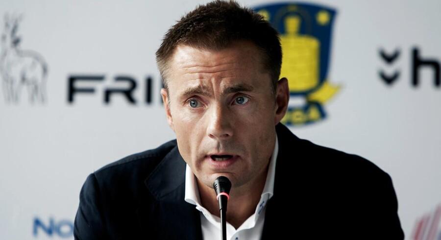 Brøndby-formand Jan Bech Andersen.