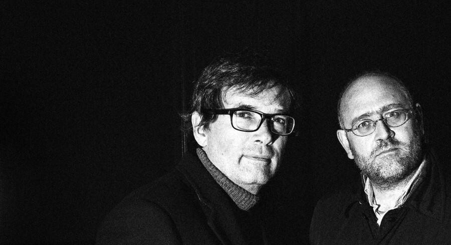 Krimiforfatterne Christian Dorph og Simon Pasternak arbejder sammen om en ny roman.