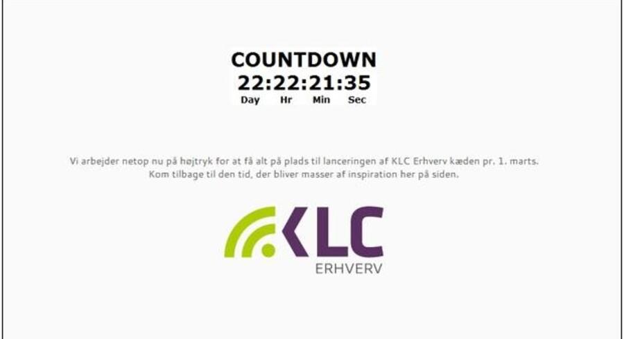 1. marts lanceres den nye kæde af snart tidligere TDC Erhvervscentre under navnet KLC Erhverv.