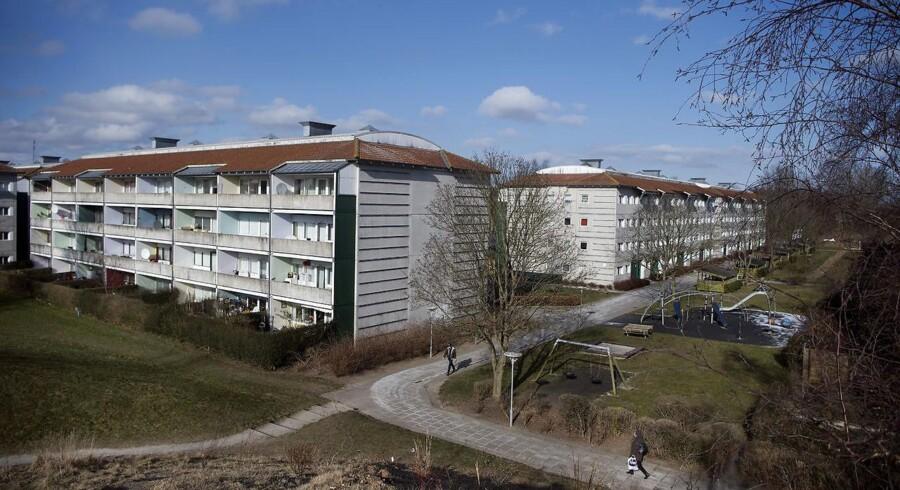 Boligområdet Gadehavegård i Høje Taastrup, som er på regeringens ghetto-liste.