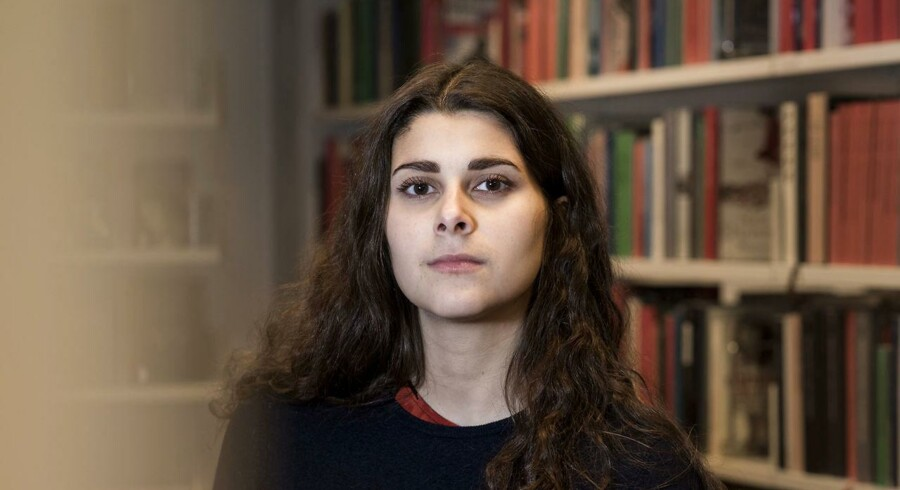 Forkvinde for Danske Studerendes Fællesråd Sana Mahin Doost.