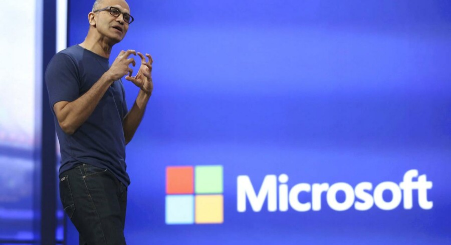 Siden Satya Nadella i februar 2014 overtog roret i den amerikanske softwaregigant Microsoft, er stilen blevet lagt om. Arkivfoto: Robert Galbraith, Reuters/Scanpix