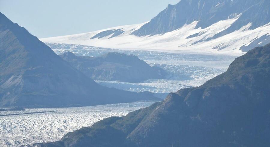 Et kraftigt skælv på 8,2 har rystet et område 250 kilometer sydøst for Chiniak i Alaska. Arkivfoto: AFP PHOTO.