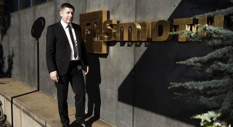 Topchef i beton- og minefabrikselskabet FLSmidth, Thomas Schultz.