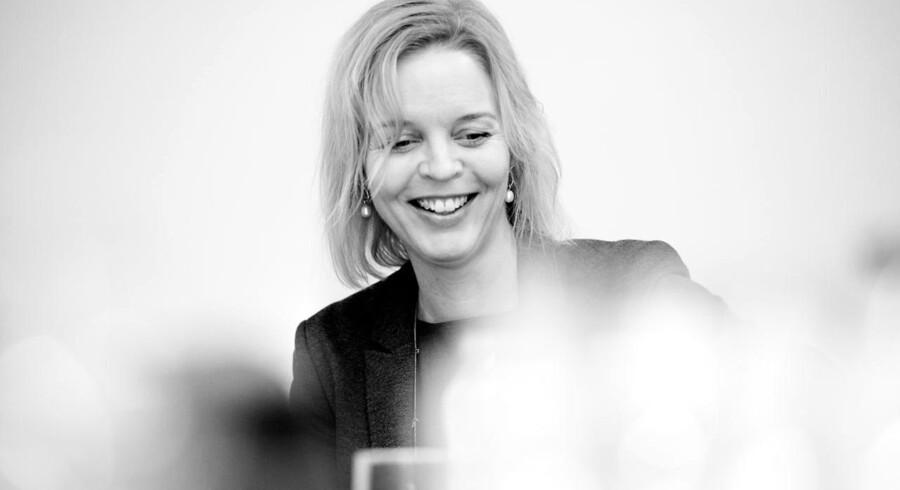 »Danmark er hjertet. Det er herfra, vores forretning går,« siger TDCs nye topchef, Pernille Erenbjerg, om telegigantens placering af sine årlige milliardinvesteringer. Foto: Erik Refner, Scanpix
