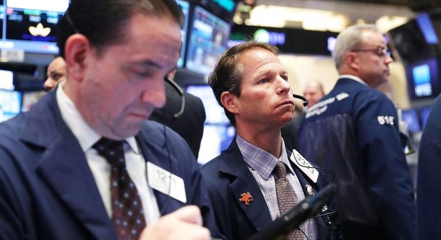 Arkivfoto: New York Stock Exchange