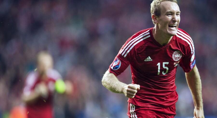 Arkivfoto. Brøndby-spilleren stopper sin aktive karriere i klubben, hvor han fik debut for 15 år siden.