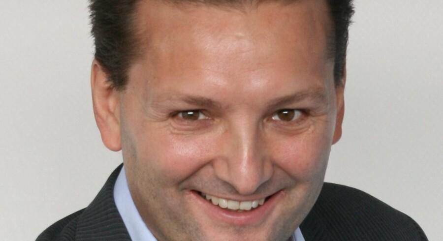 Martin Løbel er nu administrerende direktør for Teracom, som ejer alle radio- og TV-master i Danmark. Foto: Teracom