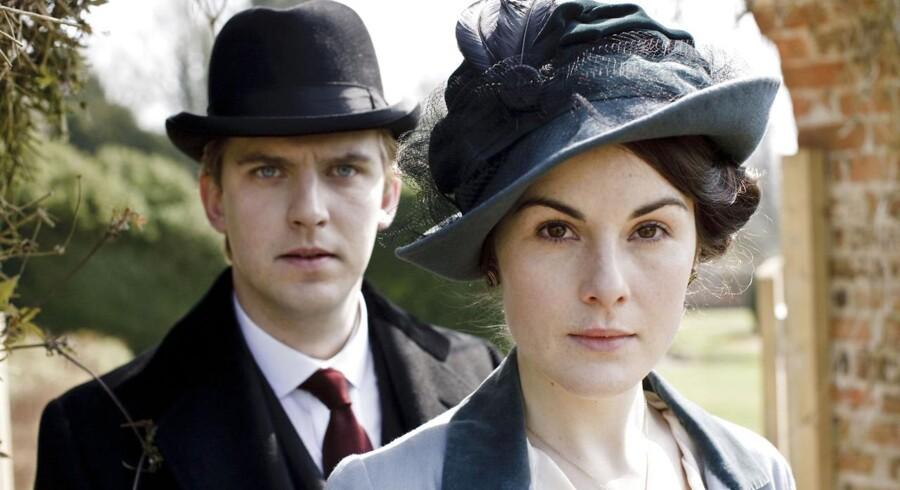 Downton Abbey - en af de mange serier, der kan indtages i store mængder på streamingtjenester - i dette tilfælde Netflix.