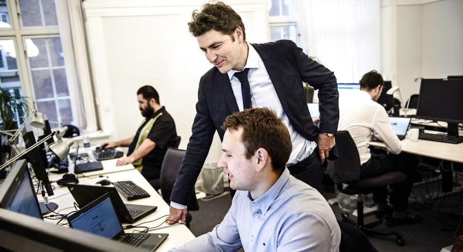 Direktør André Rogaczewski fra Netcompany har været på opkøb i Norge.