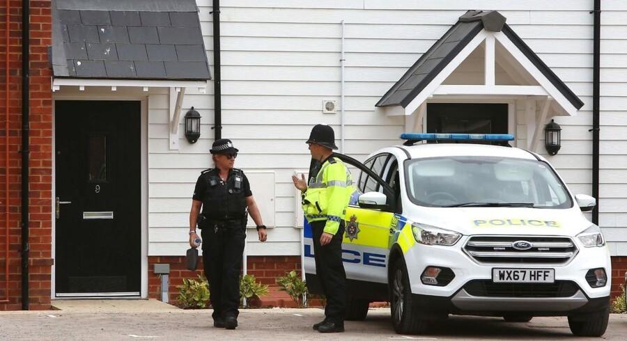 Efter en russisk eks-agent og hans datter i foråret blev forgiftet med nervegas i den engelske by Salisbury har endnu en hændelse fundet sted i samme område. Politiet er ved at undersøge, om der igen er tale om en forgiftning med samme form for nervegas.