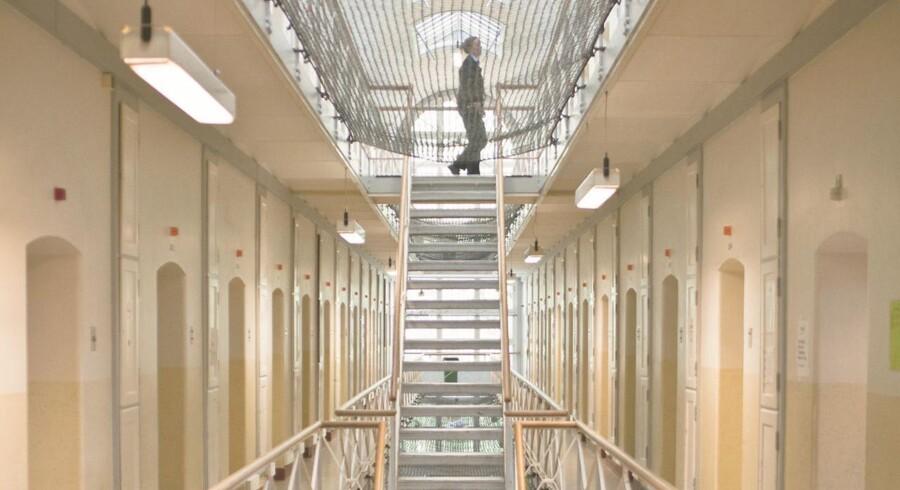 Arkivfoto. Bandegrupperingerne spiller en central rolle i konflikterne i fængslerne.