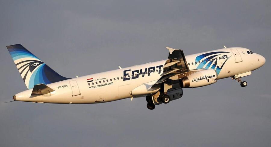 ARKIVFOTO 2012. Den franske anklagemyndighed oplyser mandag, at den har iværksat en efterforskning om uagtsomt manddrab i sagen om det EgyptAir-fly, der 19. maj styrtede ned i Middelhavet med 66 mennesker om bord.