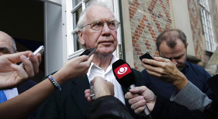Bent Jensen i forbindelse med retssagen i Landsretten. Nu mødes han og Jørgen Dragsdahl igen i Højesteret.