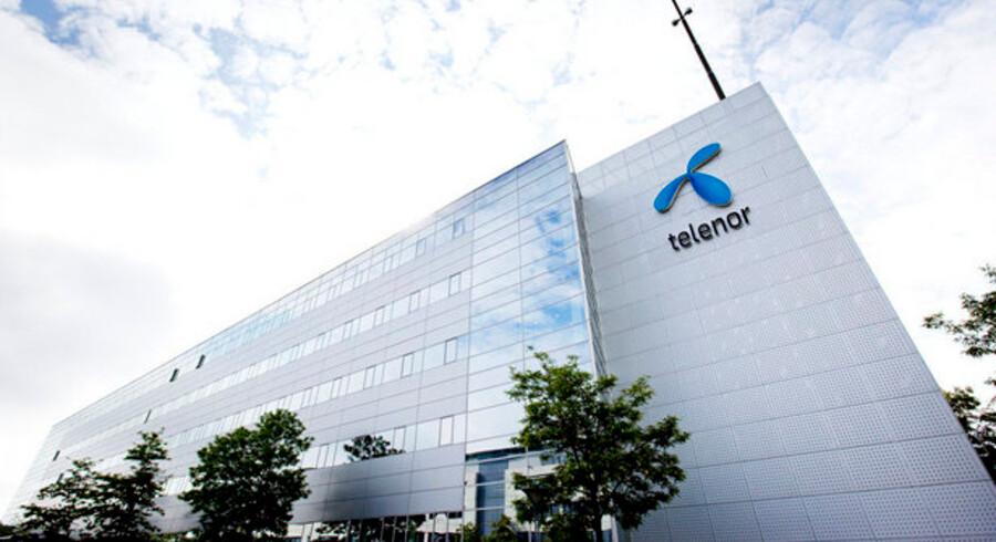 Der kommer flere kunder i huset og flere penge i kassen hos Telenor i Danmark. Foto: Telenor