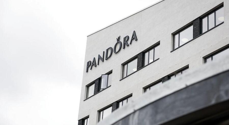 Arkivfoto. Pandoras hovedkvarter på Havneholmen. Fotograferet 6. februar 2017.