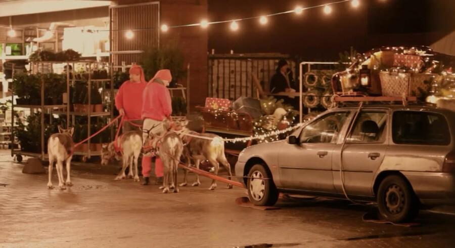 Skærmdump fra SuperBrugsens reklamefilm. Se den i bunden af artiklen.