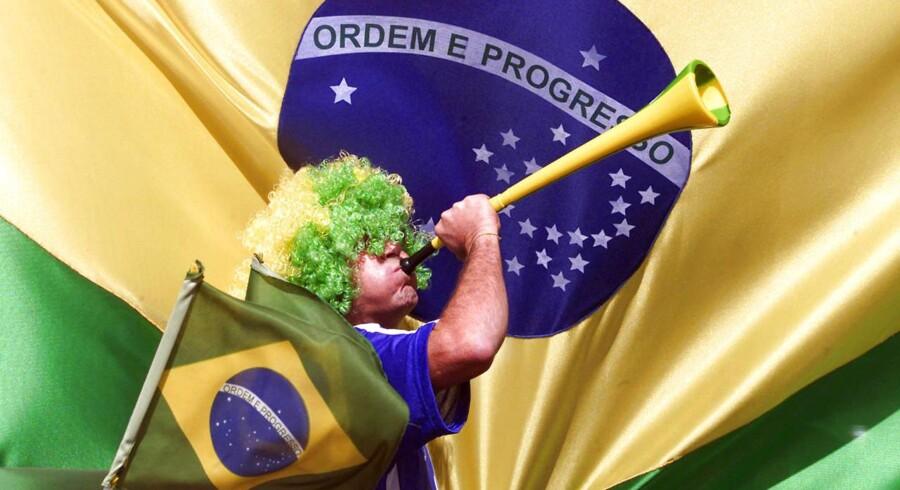 Brasilianerne kan godt begynde at øve sig på sejrsmelodien. Ifølge Goldman Sachs' statistiske analyser vinder de finalen over Argentina.