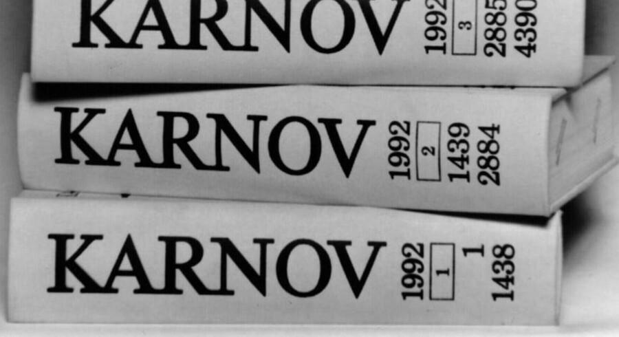 Forlaget Karnov Group udgiver blandt andet de letgenkendelige lovbøger.