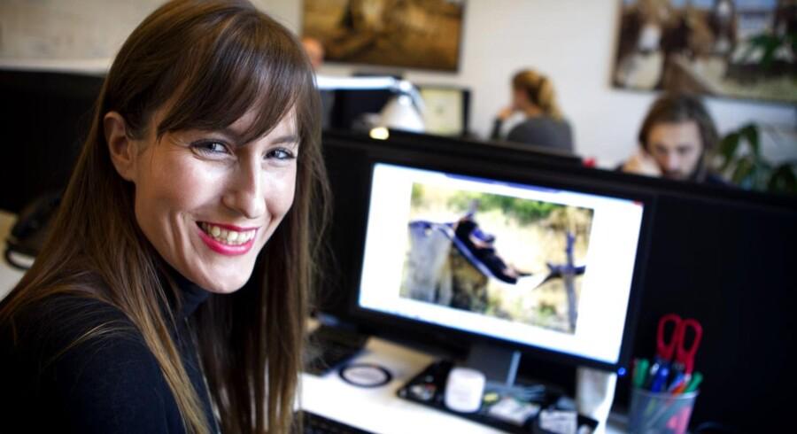 Marie Uhlig fortæller om, hvordan hun har fået job blandt andet via sociale medier.