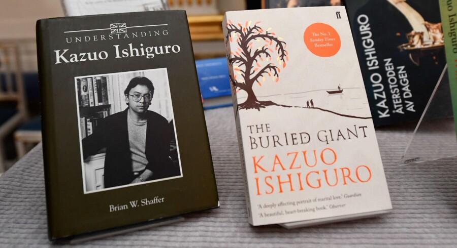 Kazuo Ishiguro er bedst kendt for romanen The Remains of The Day fra 1989. Men han har i alt udgivet otte bøger. Scanpix/Jonathan Nackstrand
