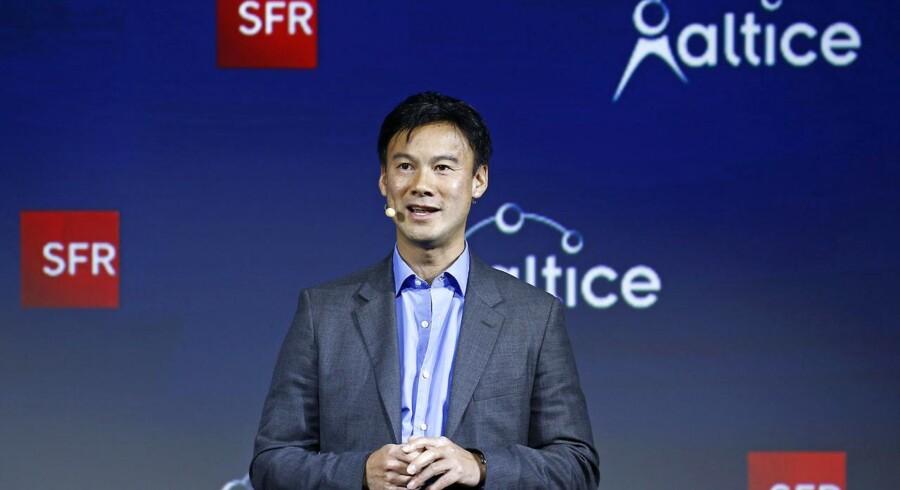 Dexter Goei, topchef hos kabel- og mobilteleselskabet Altice. Arkivfoto.
