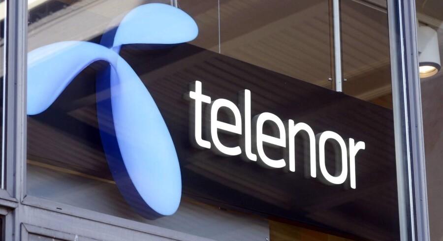 Norske Telenor, der ejer 33 pct. af Vimpelcom, håber, at Vimpelcom vil betale den store bøde, så Telenor kan sælge sin andel af selskabet. Arkivfoto.