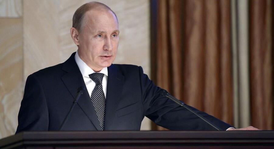 Den russiske præsident, Vladimir Putin, er klar til at sende atomrakketter af sted mod Danmark, hvis det bliver nødvendigt.