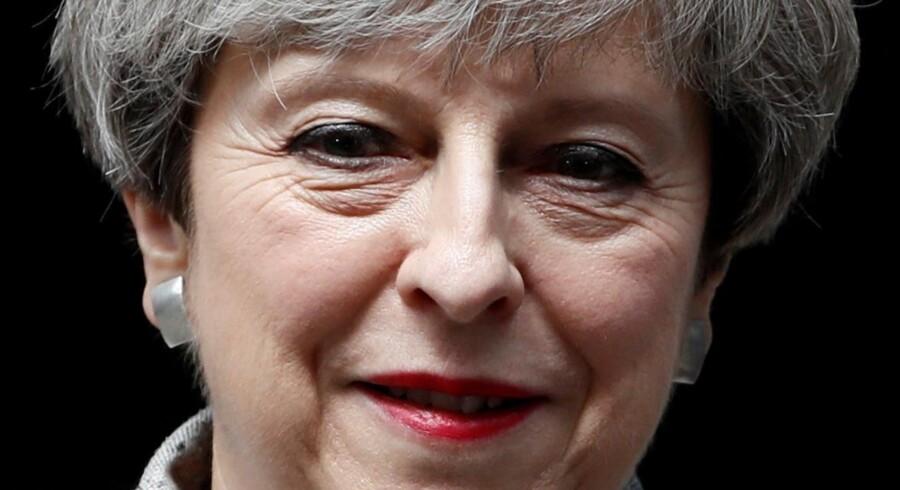 Nordirland nationalistiske parti Sinn Fein giver den britiske premierminister, Theresa May, skylden for fejlslagne forhandlinger i den britiske provins. Reuters/Stefan Wermuth