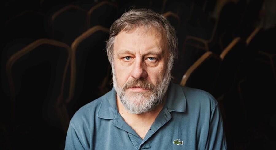 Den tjekkiske filosof Slovoj Žižek. Foto: PR