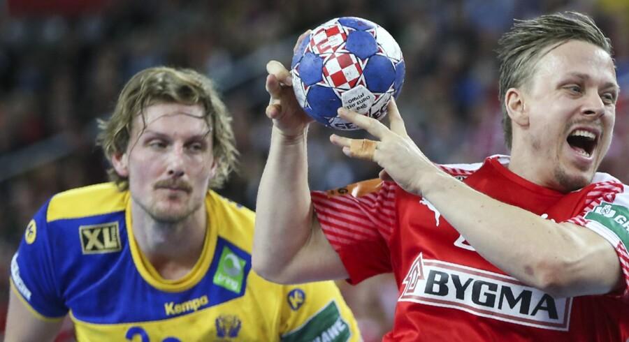 Morten Olsen var med til at vinde OL-guld og forestiller sig, at Caroline Wozniacki har en lignende følelse efter sin sejr i Australien. Reuters/Marko Djurica