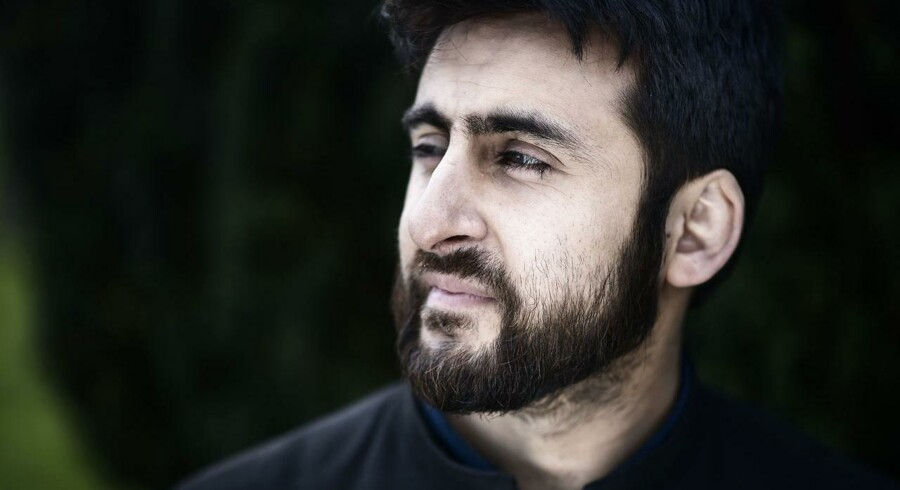 Fængselsimam Waseem Hussain. Her fotograferet på Vestre Kirkegård.