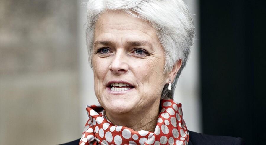 Tidligere SF-formand og erhvervs- og socialminister Annette Vilhelmsen.