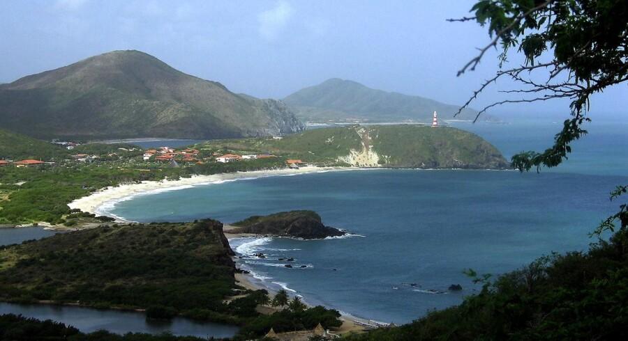 Badestrand på Isla Margarita.