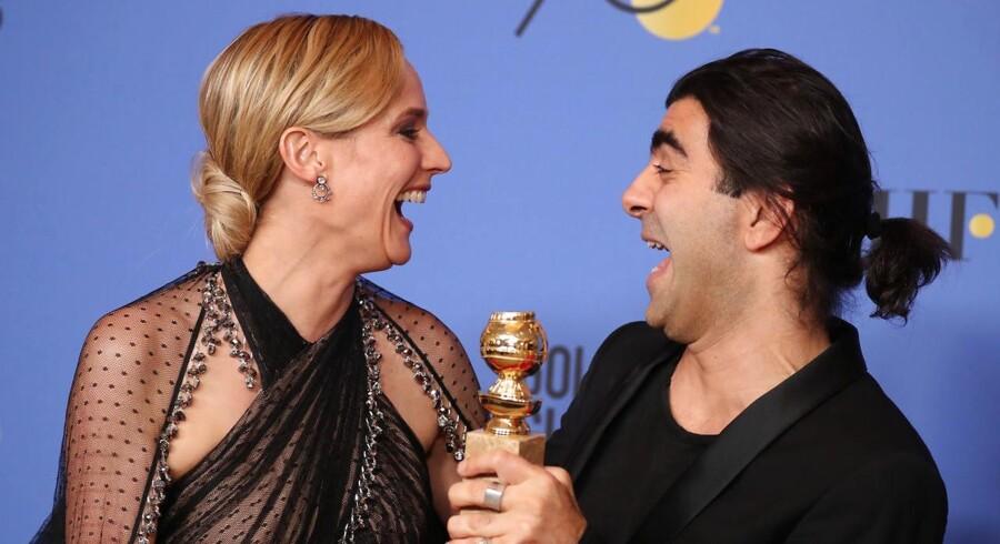 Den tyske film »Aus dem Nichts« har natten til mandag dansk tid vundet en Golden Globe for bedste udenlandske film.