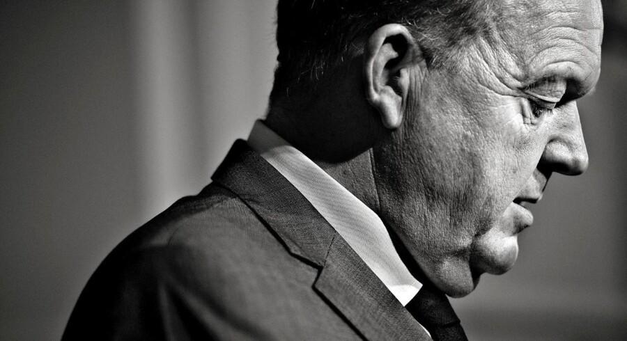 Der er ikke meget for Lars Løkke Rasmussen at glæde sig over i Gallups nye måling af danske toppolitikeres troværdighed og karisma. Arkivfoto: Bax Lindhardt